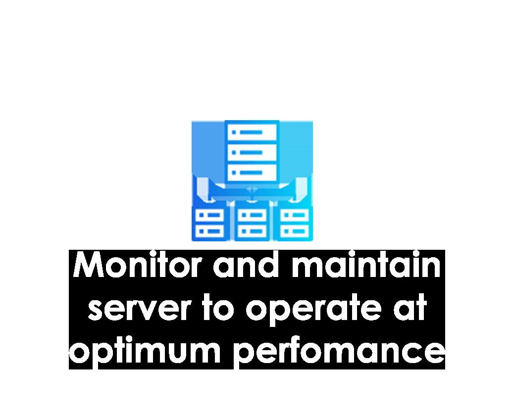 Server management hover